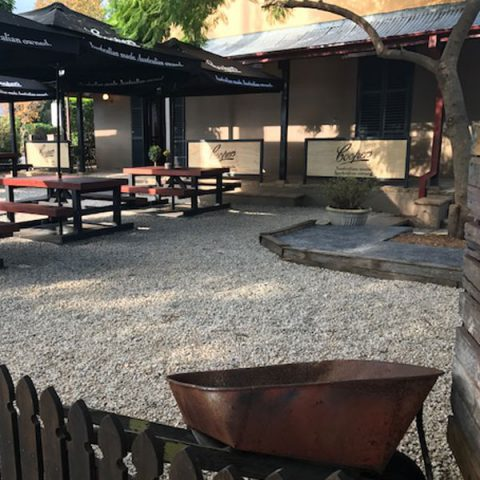 Barrels & Ashes | Front Courtyard
