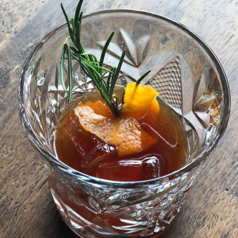 Brisket Old Fashioned Cocktail