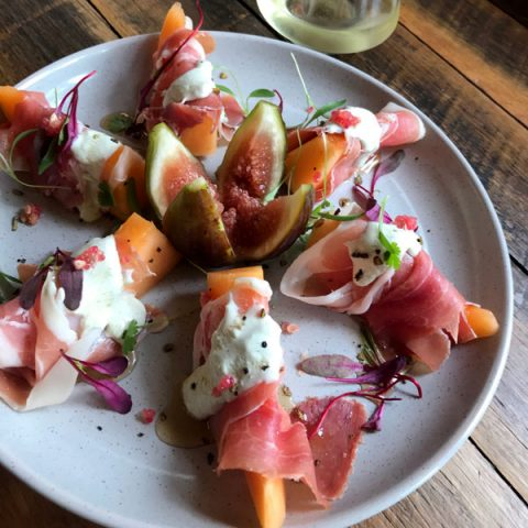 Jamon Wrapped Rockmelon Antipasto