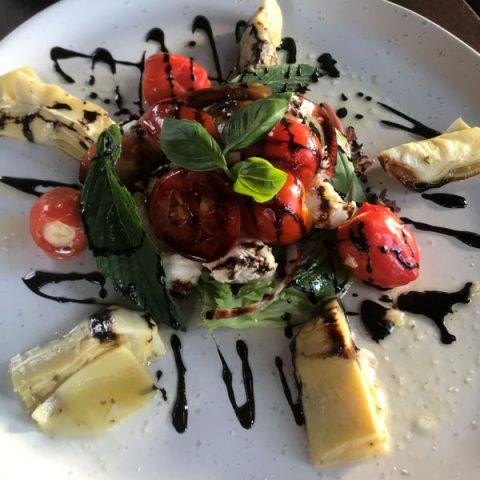 Bocconcini & Heirloom Tomato Salad