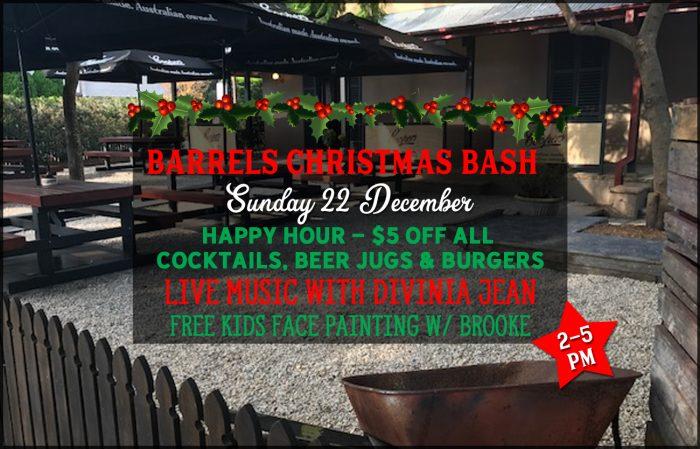 Barrels Christmas Bash 2019