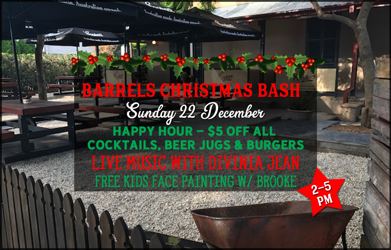 Barrels Christmas Bash 2019
