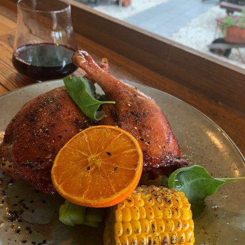 Wattle Seed Smoked Duck Maryland